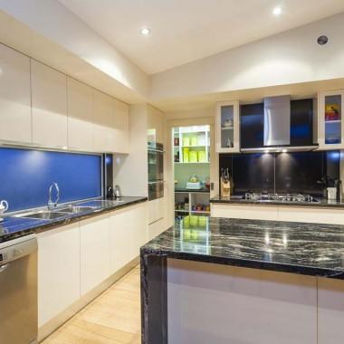 Custom kitchen cabinets and storage
