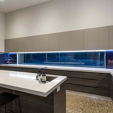 Custom kitchen cupboards Inverleigh home