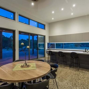 Modern Inverleigh kitchen with custom storage